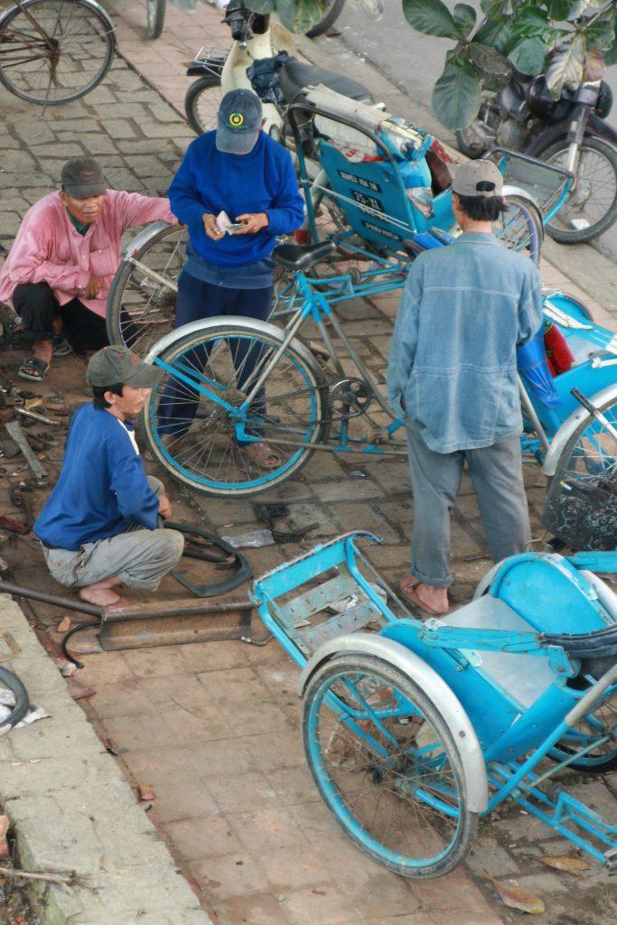 自転車タクシー、シクロ