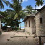 タンザニア島嶼部ザンジバルの海辺の村