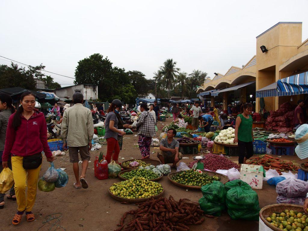 フエ第一中央市場、ベトナム