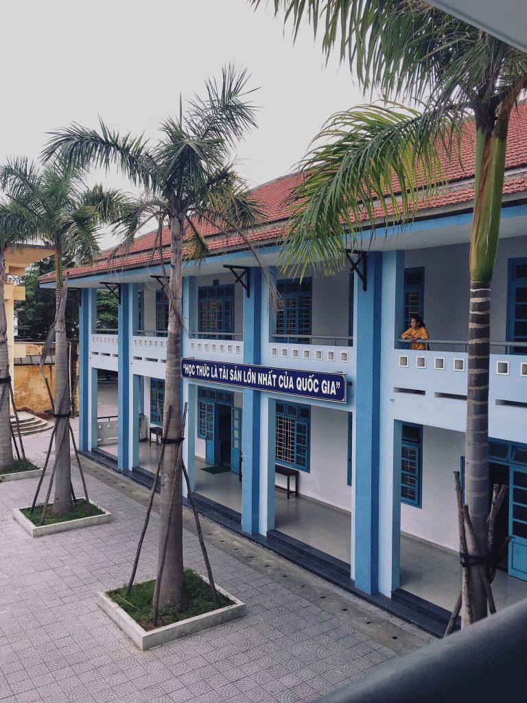 ベトナムフエ市、高校の様子