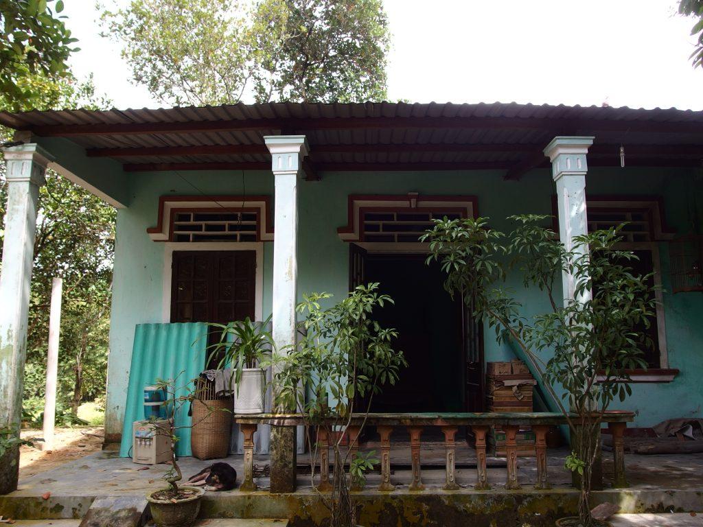 丘陵地の家、ベトナム・フエ省