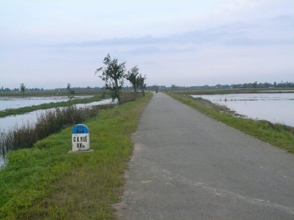 フエ省の農村部・ベトナム