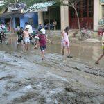 洪水の後の様子、ベトナム・フエ市