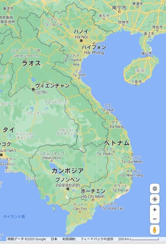 map Vietnam