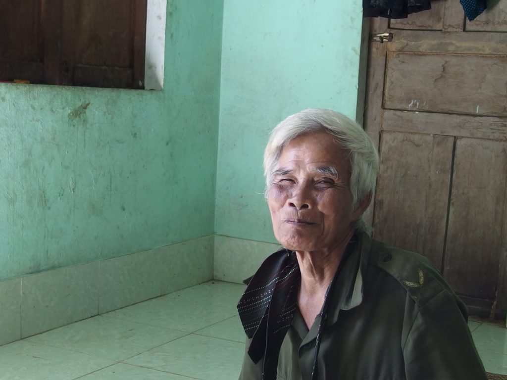 従軍経験のあるおじいさん、ベトナム