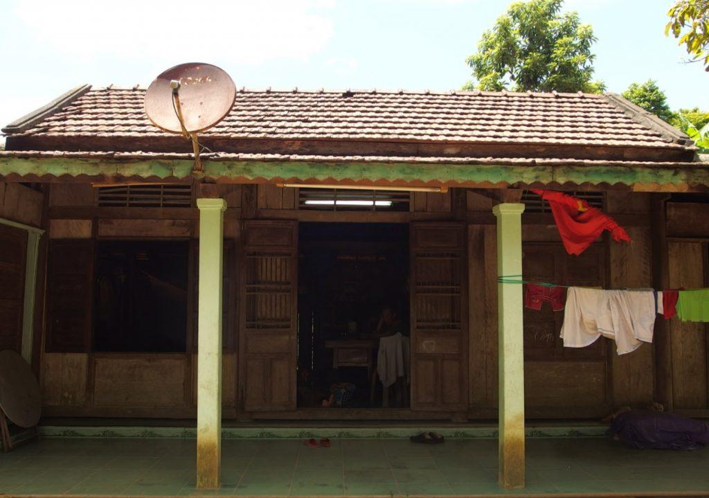 カオさんの家、フエ省・ベトナム