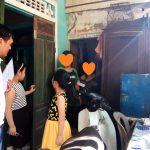 家庭訪問、フエ市・ベトナム