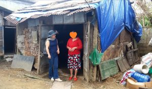 家庭訪問2、フエ市・ベトナム