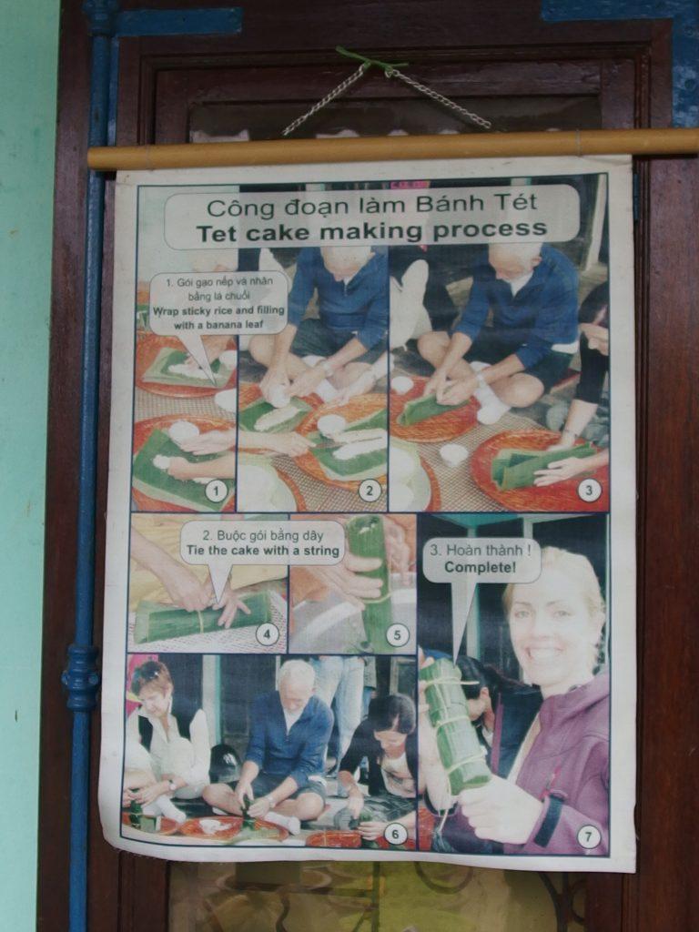 タントアン地区・クッキングクラス、フエ市・ベトナム