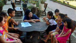 夏季補習クラス、フエ市・ベトナム