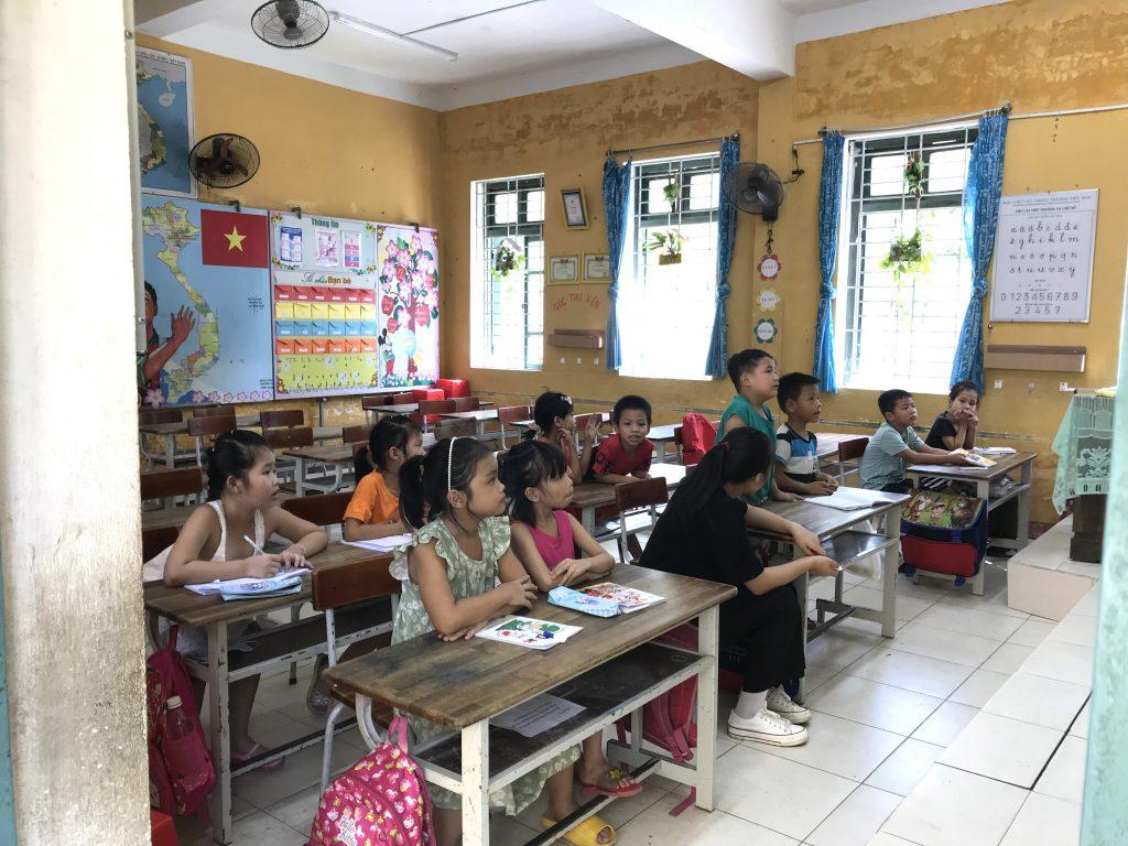 夏季補習クラス・フエ、ベトナム